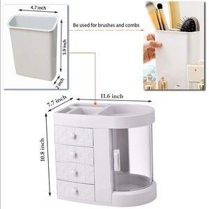 vanity storage and organizer